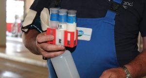Milchprobe Hemmstoff-Test