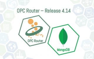 OPC Router Release 4.14 with MongoDB Plug-in