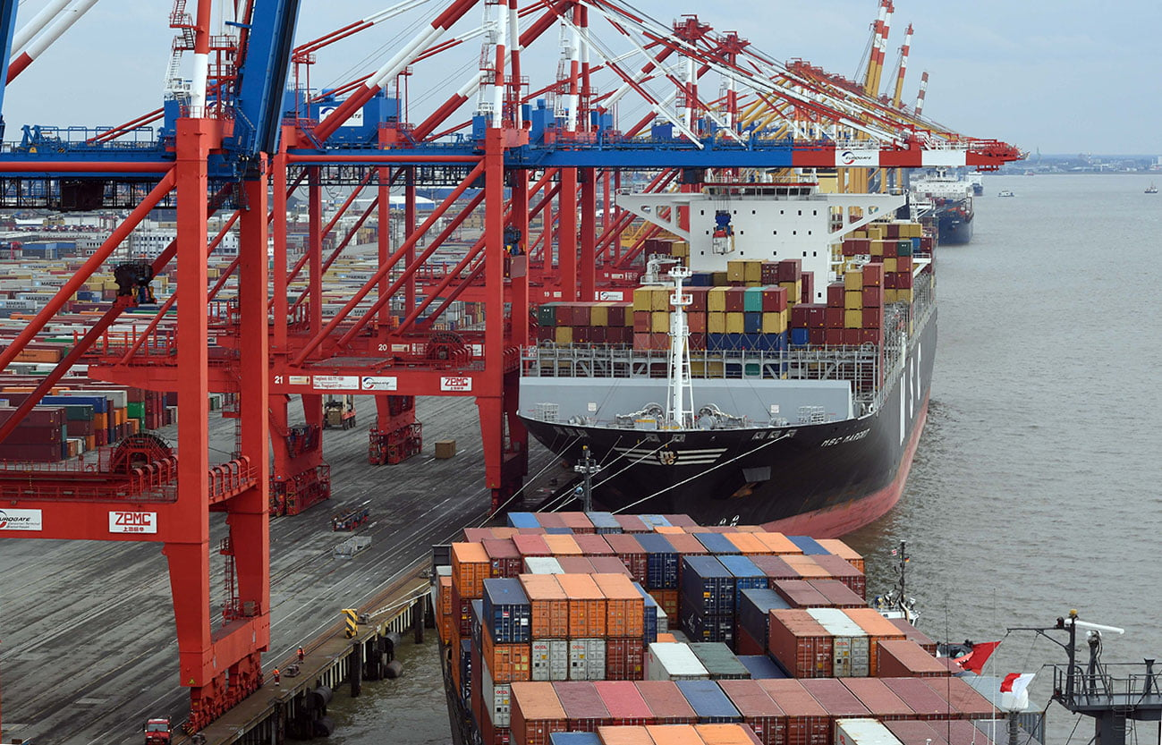 Container Terminal Eurogate - Picture Scheer