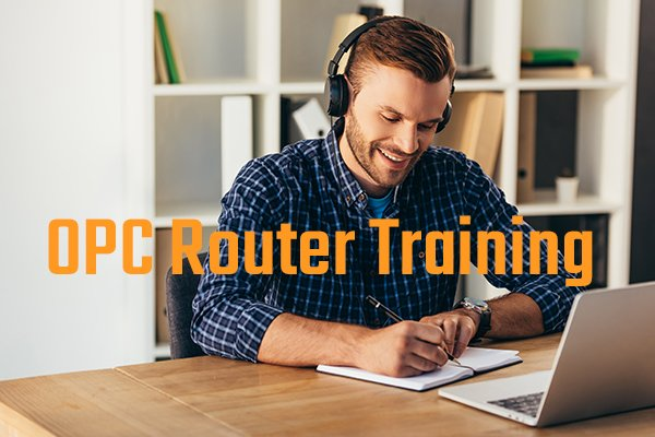 OPC Router Webinar - practical user training for Industry 4.0 Software