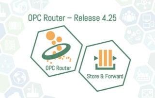 OPC Router Release 4.25 mit Store und Forward Funktion