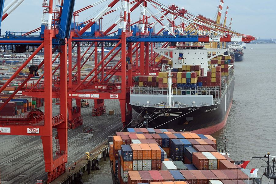 Container Terminal Eurogate - Foto Scheer